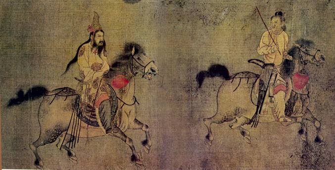 Five Dynasties and Ten Kingdoms Period (Wǔdài Shíguó 五代十国)