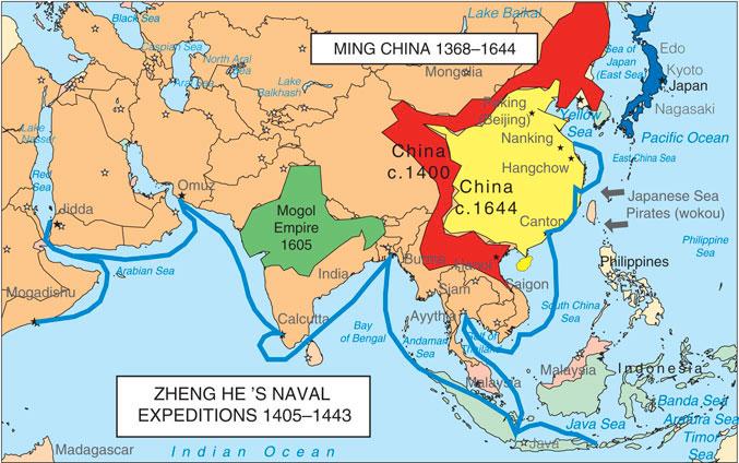 Ming Maritime Expeditions (Míng Cháo hánghǎi huódòng 明朝航海活动)