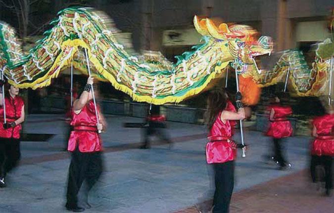 New Year (Spring Festival) (Nónglì Nián (Chūnjié) 农历年 (春节))