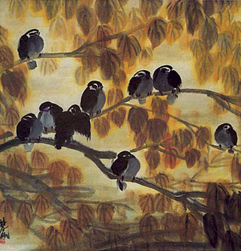 Painting—Flower and Bird (Huā-niǎo huà 花鸟画)
