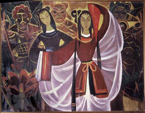 Painting—Folk (Mínsú huà 民俗画)|Mínsú huà 民俗画 (Painting—Folk)