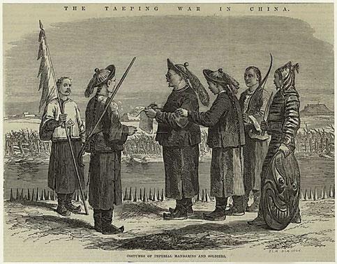 Taiping Rebellion (Tàipíng Tiānguó Yùndòng 太平天国运动)