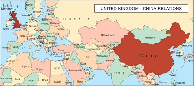 United Kingdom–China Relations (Yīng-Zhōng wàijiāo guānxì 英中外交关系)